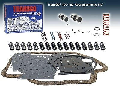 Turbo 400 TRANSMISSION SHIFT KIT 1965 & UP Turbo 400 Reprogramming Kit 400 1&2
