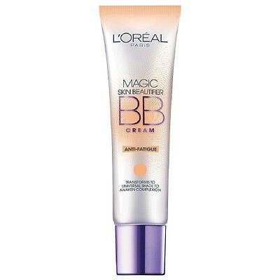LOREAL Magic Skin Beautifier B.B Cream Primer BB Anti-Fatigue 818 NEW 30mL