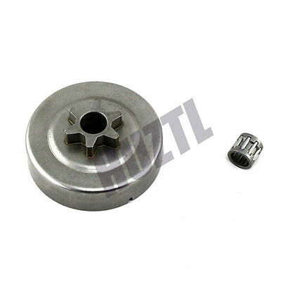 """3/8"""" 6T Clutch Drum Chain Sprocket + Bearing For STIHL 018 017 MS170 MS180 NEW"""