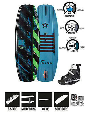 Wakeboard junior Terra Package 124 + chausses Unit Bindings - Jobe 2016