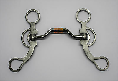 FG Hinged Port Training Bit - #215632 Western Gebiss short Shanks
