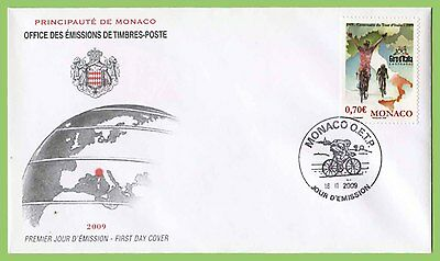 Monaco 2009 Centenary of Tour of Italy (Giro) Cycle Race First Day Cover