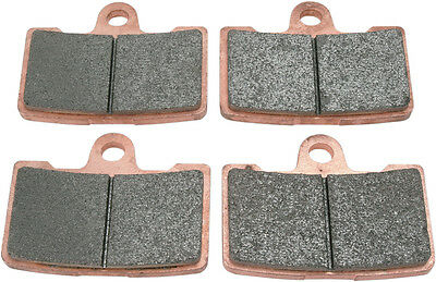 SBS Dual Sintered Front or Rear Brake Pads 856H.HS