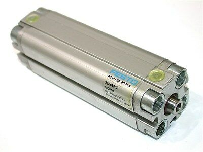 """Up To 6 New Festo Air Cylinders 3 1/8"""" Stroke Advu-20-80-P-A"""