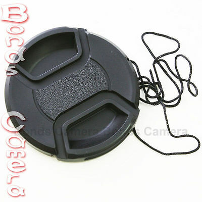 77mm 77 mm Center Front Snap on Lens cap cover for Canon EOS EF DSLR DC+ Leash 1