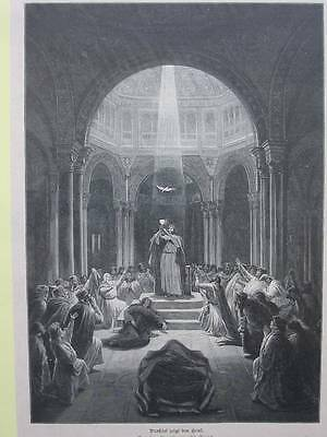 89154-Religion-Religiöses-Parsifal zeigt den Gral-TH-Wood engraving