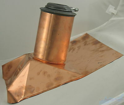 """F.J. Moore 11SM 3"""" Copper Roof Flashing Frost Resistant"""