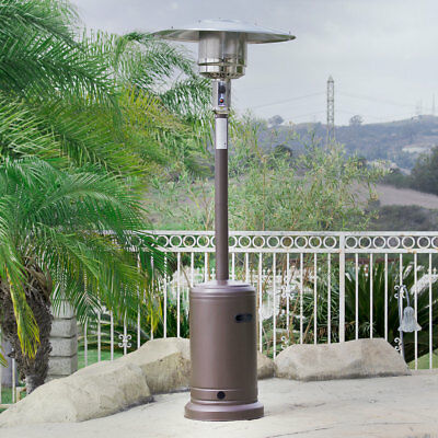 48,000 BTU Outdoor Propane Patio Heater LP Gas with Reguator and Wheel Mocha - Lynx Eave Mounted Heater 48-Inch, Natural Gas, New €� $1,999.00