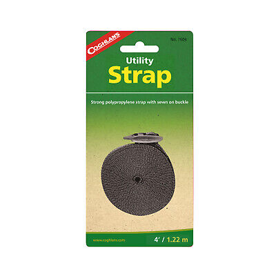 Coghlans Polypropylene Utility Strap - 4 Feet - Best For The Outdoors (Cog 7604)
