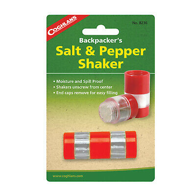 Coghlans Salt And Pepper Shaker - Great For Camping (Cog 8236)