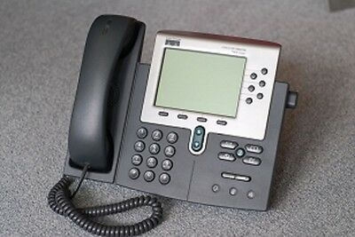 (Grade A)  Cisco 7960 IP Business Telephones POE VoIP Phone CP-7960G (Qty)