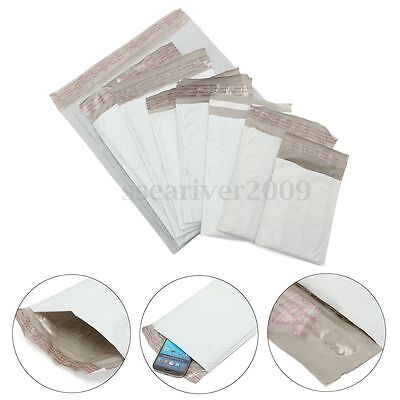 Padded Poly Bubble Mailers Plastic Self Sealing Closure Envelope Shipping Bags