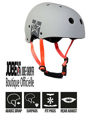 Casque Sports Nautiques Slam Wake Helmet Gray Jobe 2017 - wakeboard - skis
