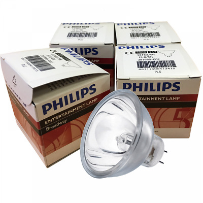 Philips 4 x A1/259 ELC/5H 24V 250W BULB 500 hour rated GX5.3 Lamp 13163/5H A1259