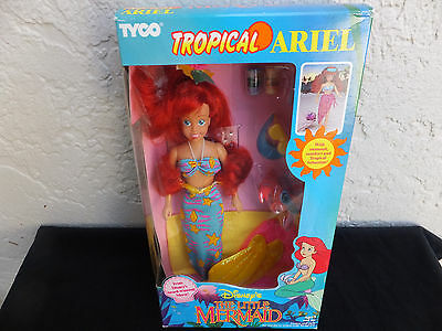 Disney The Little Mermaid Ariel Tropical 1991 Tyco NRFB MIB