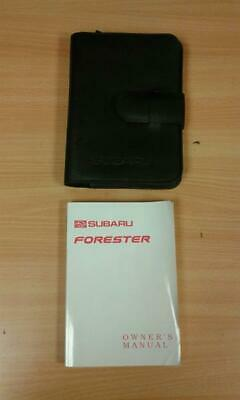 Subaru Forester Owners Handbook Manual and Wallet 1997 - 2003 - 1364971