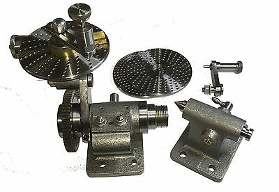 Rdgtools Small Dividing Head / Indexing Head With Accessories Tools Myford