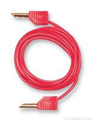 Mc (Multi Contact),21.0830-1,test Lead, 4Mm Plug, Red, 1M