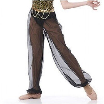 Harem Pants ONLY Night Magic Dance Costume Mix N Match Genie Halloween CXS-AXL