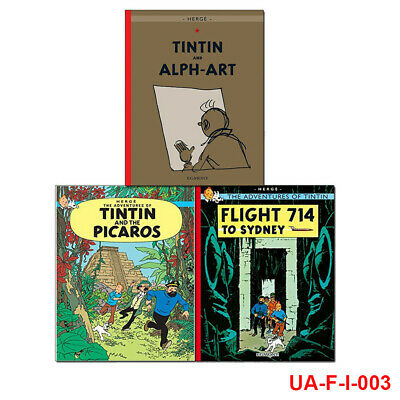 Adventures of Tintin Collection Series 5,3 Books Set Tintin and the Picaros NEW