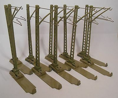 Marklin 7009 Catenary Masts With Clip On Bases For M Track (10 Pieces)