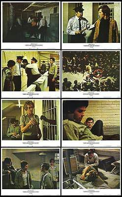 FORTUNE AND MEN'S EYES lobby card set MICHAEL GREER/ZOOEY HALL/GAYS IN PRISON