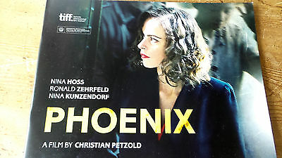 Phoenix Foreign Movie Book Press Kit Fyc For Your Consideration