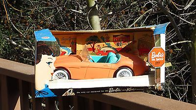 Barbie & Ken Vintage Irwin Mattel Austin Healy Sports Car in the Original Box