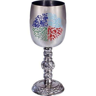 Four Elements Small Stainless Steel Chalice!