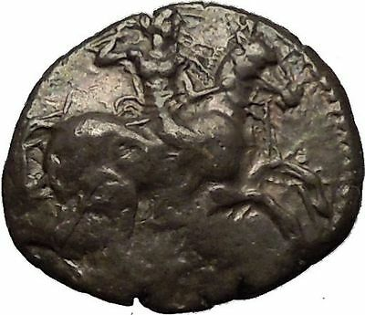ASPENDOS in PAMPHYLIA 425BC RARE Silver Greek Coin Mopsos Horse Boar i53457
