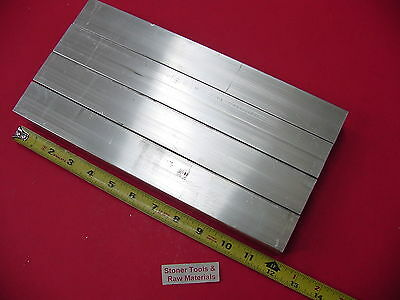 "4 Pieces 1-1/2""x 1-1/2""x 1/8"" Wall x 12"" Long ALUMINUM SQUARE TUBE 6063 T52"