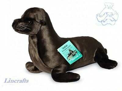 Fur Seal  Plush Soft Toy by Teddy Hermann Collection. 90143