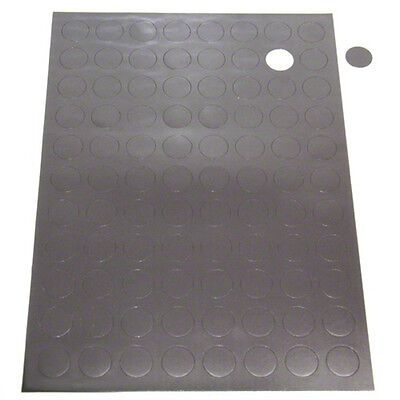 Self Adhesive Magnetic Rubber Dots / Disks 12.5mm Diameter Disc