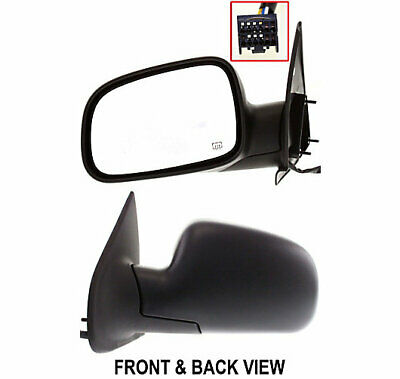 Mirror New Left Hand Heated Driver Side LH CH1320169 55155233AE Grand Cherokee