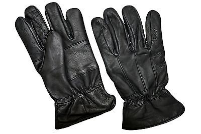 Mens Lambskin Leather Dressing Driving Biker Winter Warm Gloves All Sizes #1096