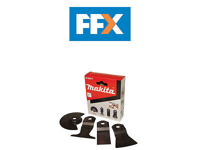 Makita B-30617 4 Piece Flooring Multi Tool Blade Set