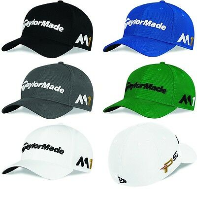 Taylormade Golf 2016 New Era 39Thirty Tour Stretch Fit Cap (M1/Psi)
