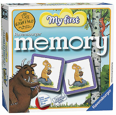 The Gruffalo My First Memory Game Ravensburger Puzzle