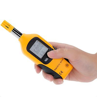 Portable High Accuracy Digital Hygrometer Wet Bulb / Dew Point Thermometer Q7S6