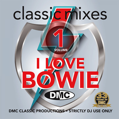 DMC David Bowie Megamixes & 2 Trackers Mixes Remixes Ft Queen DJ CD New Release