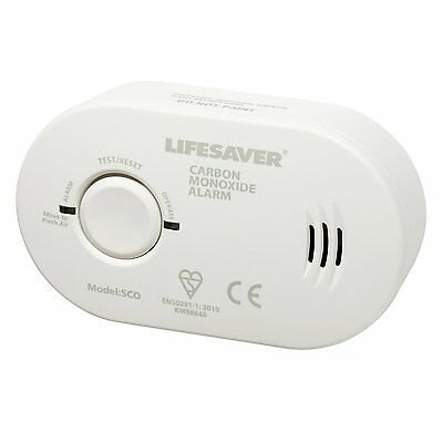 Kidde 5CO 7 Year Carbon Monoxide Detector Alarm With Batteries CO Lifesaver BNIB