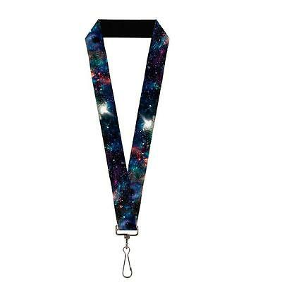 Outer Space Another Galaxy White Light Lanyard