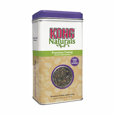 KONG PREMIUM ALL NATURAL CATNIP for Cats  Kittens 2 oz (CN2)