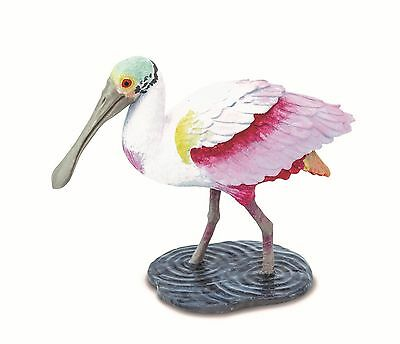 Roseate SPOONBILL Bird Replica 224829 ~ NEW in 2016 FREE SHIP/USA w/ $25+ SAFARI