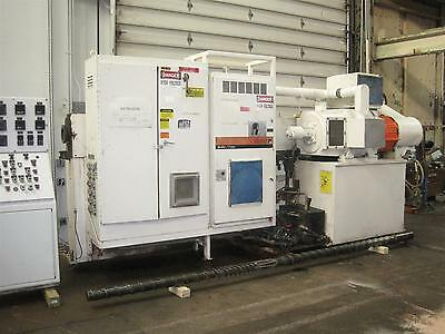 "4.5"" Gloucester Extruder, 30:1 L/D Ratio, Water Cooled, 250 HP"