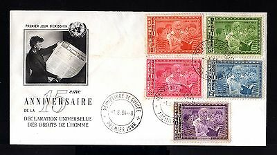 7996-REPUBLIQUE GUINEE-FIRST DAY COVER GUINEA.1964..AFRICA.FDC.French colonies