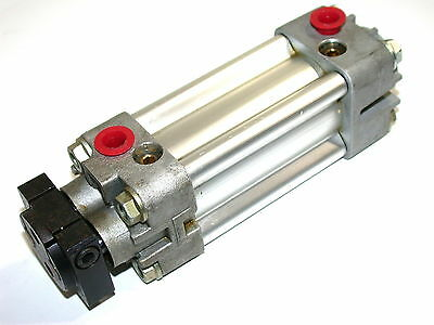 "New Hoerbiger 1"" Stroke Dual Rod Non-Rotating Air Cylinder"