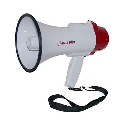 Pyle Pmp35r Megaphone With Siren And Voice Recorder 30 Watt Output