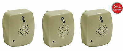 3 X Pestbye Plug In Mouse Repeller Pest Insect Ant Control Ultra Sonic Repellent