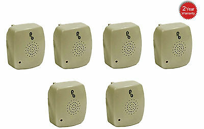 6 X Pestbye Plug In Mouse Repeller Pest Insect Ant Control Ultra Sonic Repellent